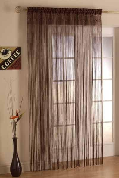 Multi Color String Curtain Fringe Panel Room Divider: 1000+ Images About Decorar Con Flecos / Fringe String