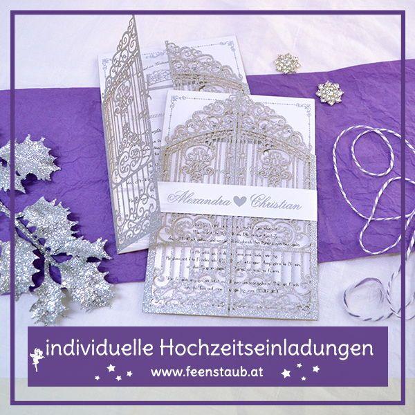 Hochzeitseinladungen Von Feenstaub Hochzeitseinladung Hochzeit Winterhochzeit