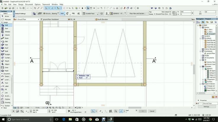 How to import autocad file into archicad and start making your model