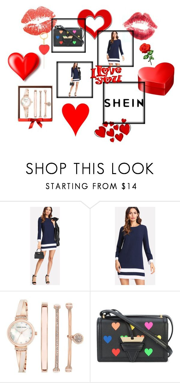 """""""shein shein"""" by selenanaa ❤ liked on Polyvore featuring beauty, Anne Klein and Loewe"""