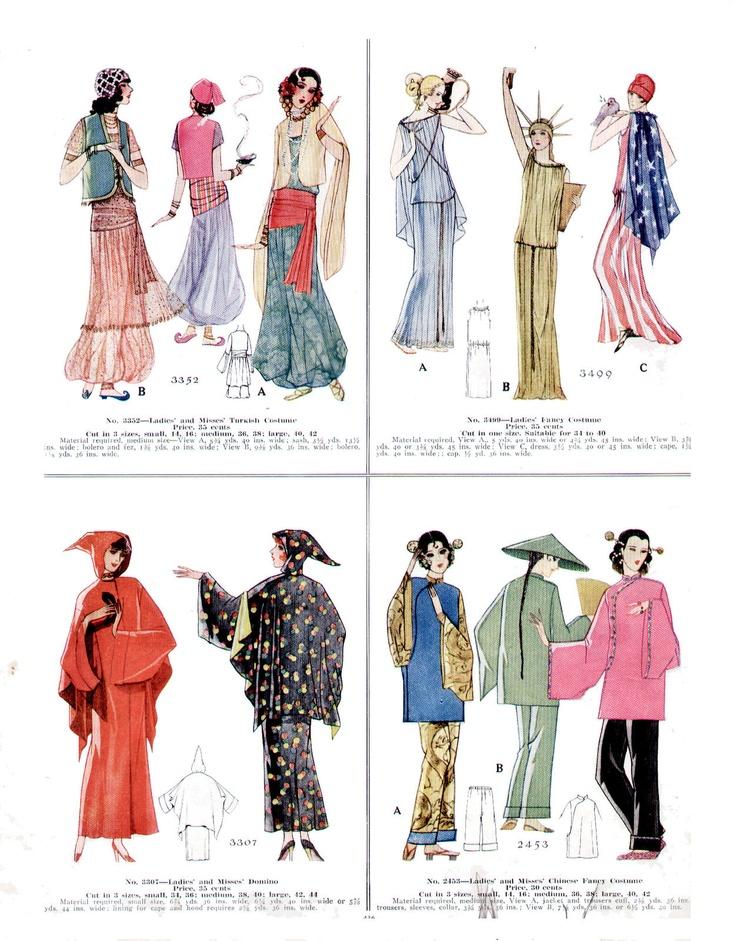 180 best Halloween Vint. Sewing Patterns images on Pinterest ...