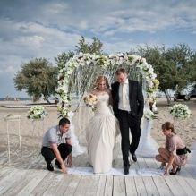 Выездная церемония на пляже