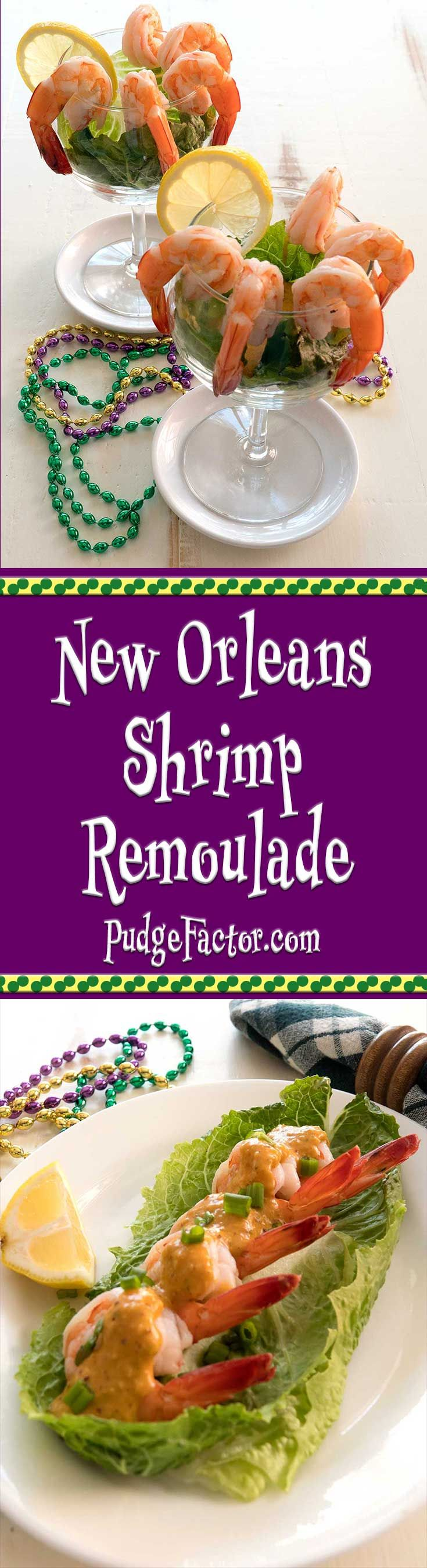 Shrimp Remoulade is a quintessential New Orleans dish composed of cold boiled shrimp with a spicy mustard-based dressing. via @c2king