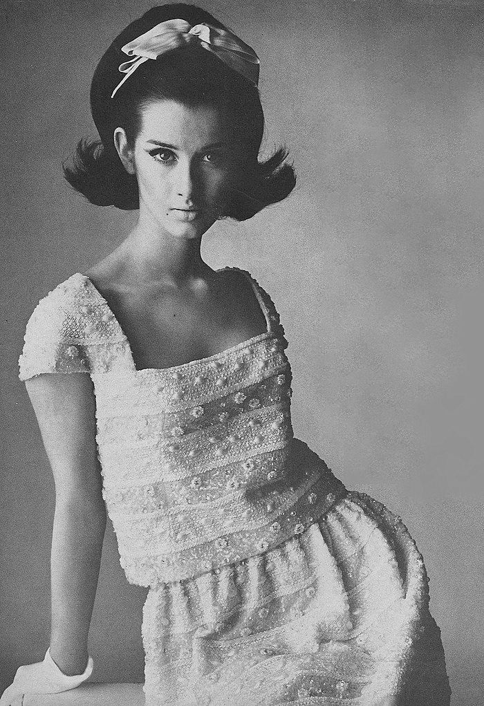1964 dress by By Sarmi/ March Vogue