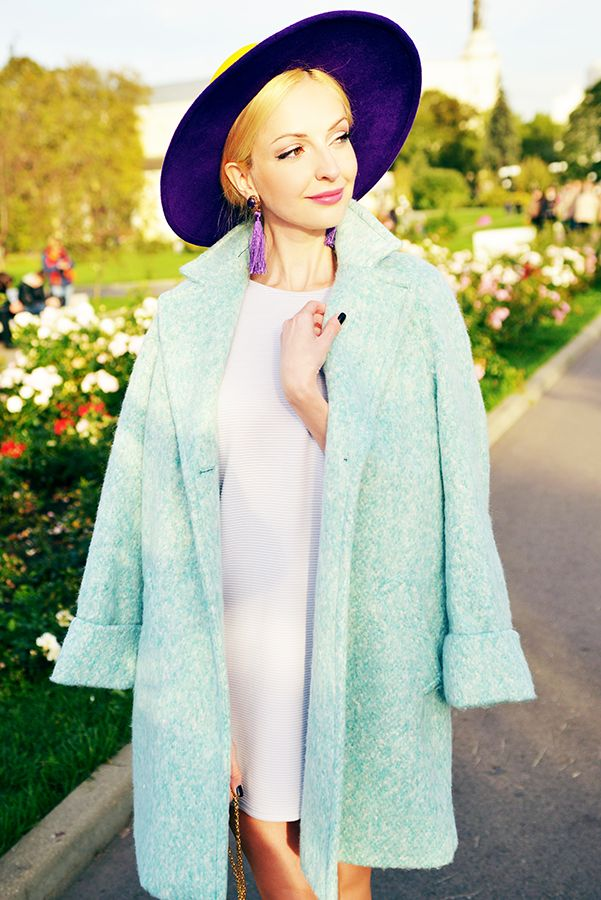 zara mint coat street style fashion thefashionarea fashion blog angela arutyunyan