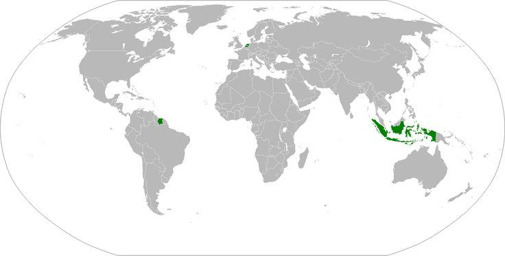 Dutch Empire at its territorial peak in 1938