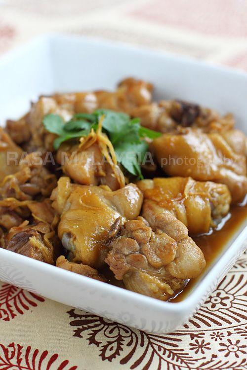 Sesame Oil Chicken (麻油鸡) | Easy Asian Recipes at RasaMalaysia.com