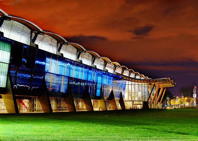 Richmond Olympic Oval Night View, via Flickr.