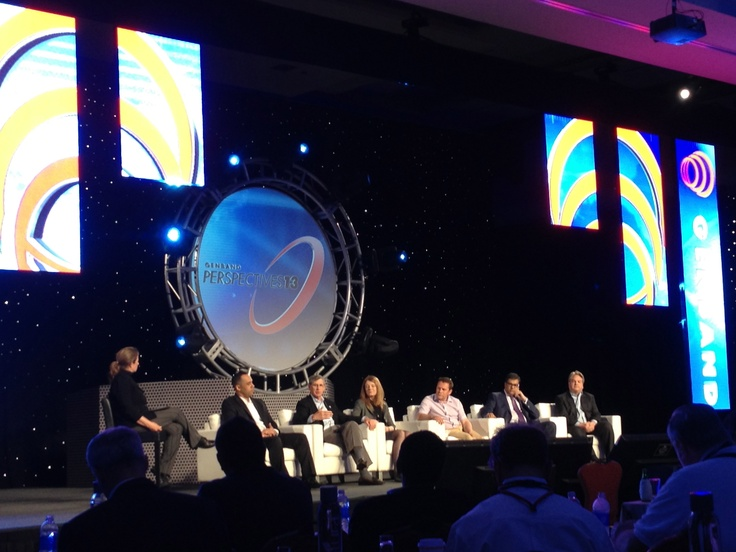 Panel discussion at Genband Perspectives 13 in Orlando, Kingdom Ridge Capital, KRC, Geeks on the Road