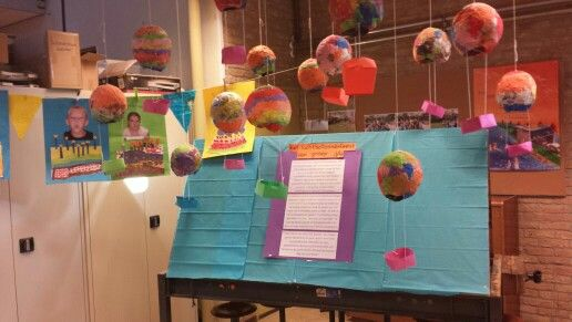 Luchtballonnenfeest! Met een zelf verzonnen verhaal van alle kinderen van groep 3/4!