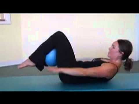 Pilates Hundred Using the Overball