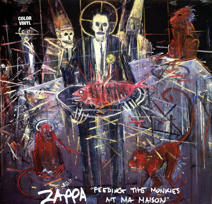 Zappa Feeding the Monkies at Ma Maison cover