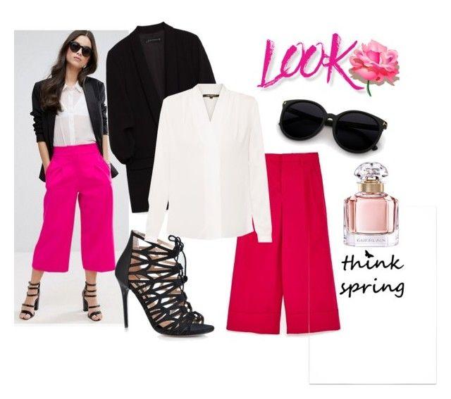 Think Spring by laura-ferrari-mercier on Polyvore featuring moda, Kobi Halperin, ASOS, NYX and Guerlain
