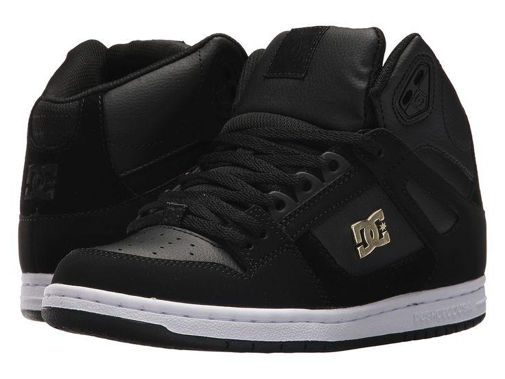 DC Rebound High SE Women's Skate Shoes Black/Gold