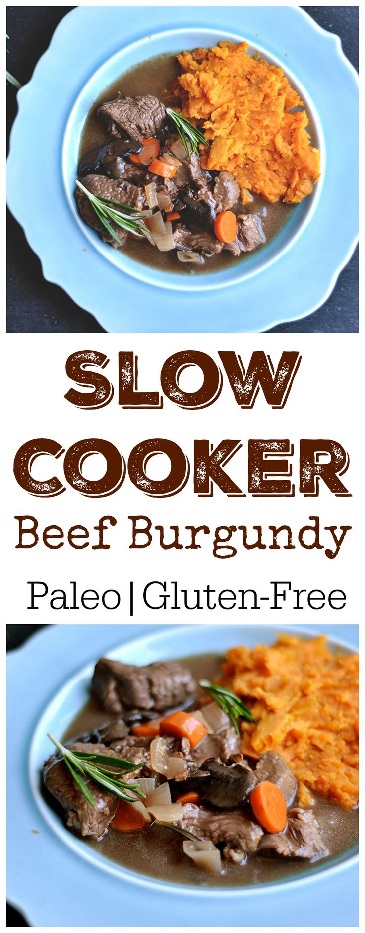 Super Easy Beef Burgundy that makes the most tender and delicious braised beef! An elegant meal that is great for holidays or company.