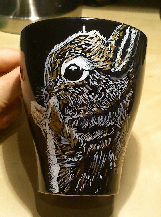 Bunny cup sharpie