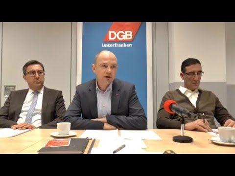 DGB Pressekonferenz Tarifjahr 2016 Region Schweinfurt