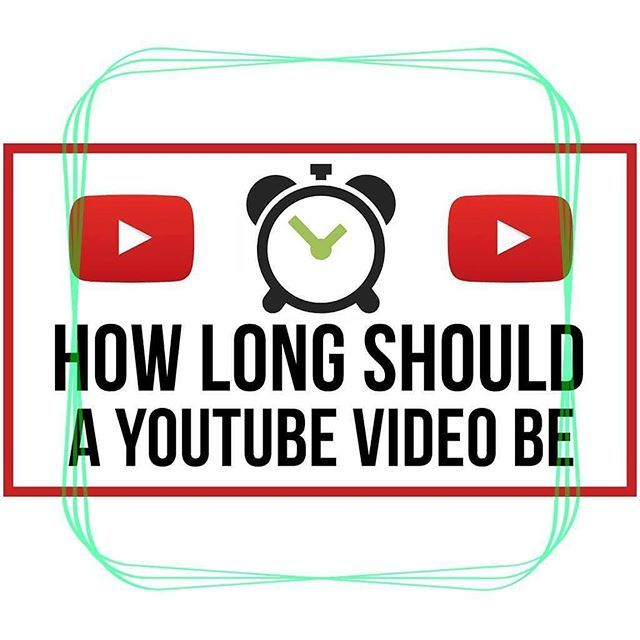 """How long should a YouTube Video be? Some YouTube videos are hundreds of hours. """