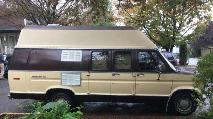 1980 Econoline High Top In Vancouver Bc Van For Sale Ford Van Van