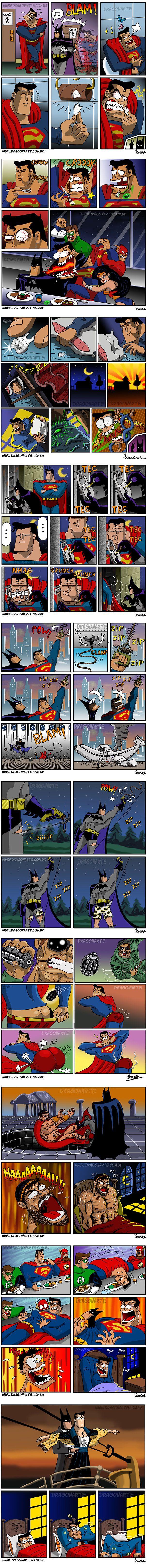 Bat Man & Super man