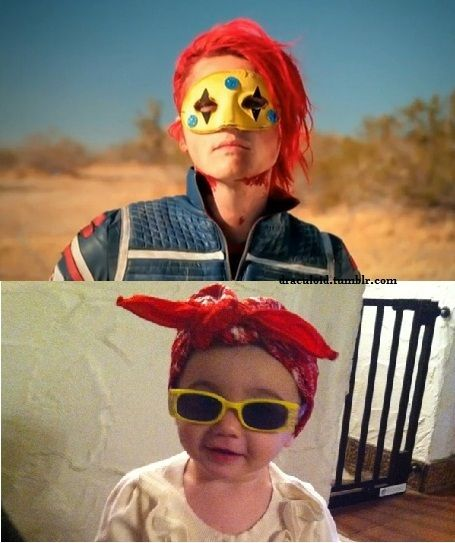 Gerard and Bandit. Like Father, like Daughter | JFC - THIS IS SO CUTE IT MAKES MY HEART HURT