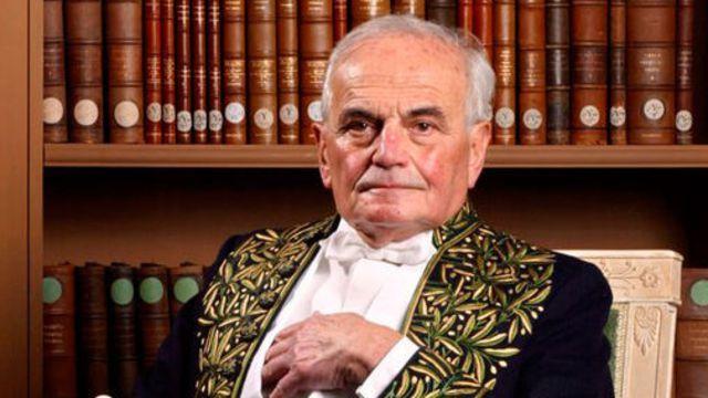 Michel Déon, ici en grande tenue d'académiciens, est décédé mercredi 28.12.2016 à l'âge de 97 ans.