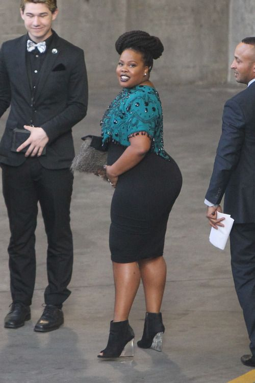 Amber Riley arriving at PaleyFest (March 13, 2015)
