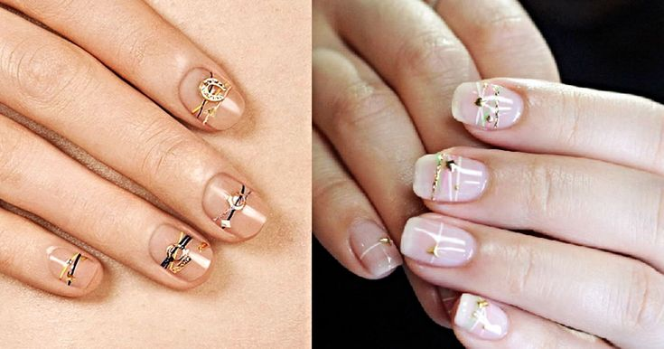 There's Something Deeply Satisfying About 'Bracelet Nails'  We can't look away.