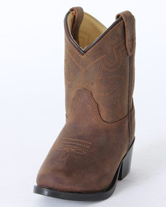 Smoky Mountain® Kids' Oiled Brown Boots - Toddler :: Infant & Toddler Cowboy Boots :: Cowboy Boots :: Fort Western Online