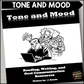 Tone and Mood - Graphic Organizers and Activities for Tone and MoodThis item is included in my Literary Elements Resource Binder.This 29 page resource contains various activities for you to use while teaching the literary element of Tone and Mood. This resource includes:  a set of 4 mini-postersbookmarksa full page of activity ideasa full page of reading response promptsa page of internet resourcesa book listmany different oral, reading, and writing graphic organizerstwo full ready-to-use…