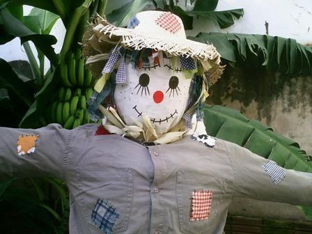 Como fazer espantalho de pano para festa junina – Valendo-se de já estarmos no mês de junho, se você