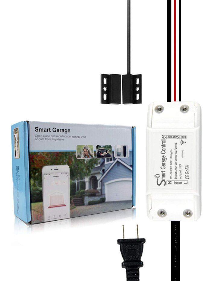 App Remote And Voice Control Smart Wifi Garage Door Opener Comppatible With Alexa Google Ad Affiliate Control App Remote Smart Wifi Garage Door Opener