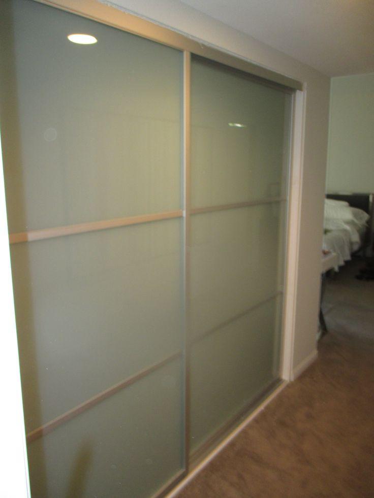 109 best 2 panels 2tracks aluminum frame sliding closet for Closet doors los angeles