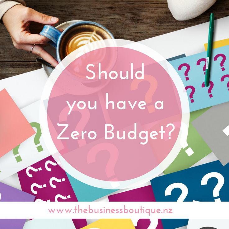 Have you ever wondered what a Zero Budget is? Or maybe you've heard of it but weren't sure how to use it?  In this blog I explain how easy this is to use and how you can put yourself in charge.