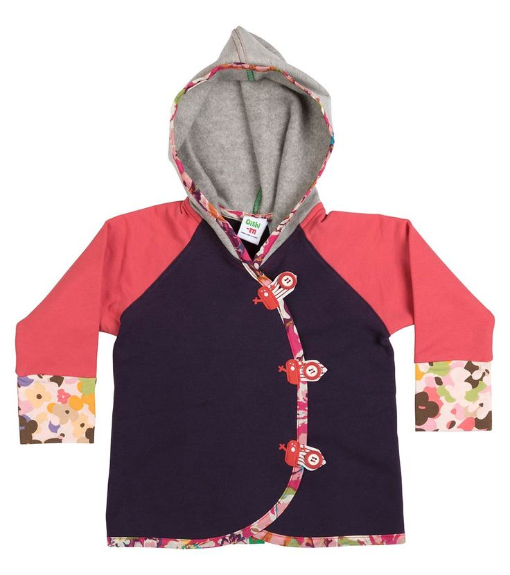 Tinker Hoodie, Oishi-m Clothing for kids, Autumn 2017, www.oishi-m.com