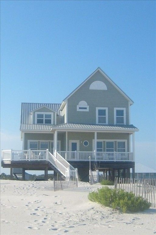 Morgantown Vacation Rental - VRBO 311293 - 5 BR Fort Morgan House in AL, Gulf Front with Spectacular View