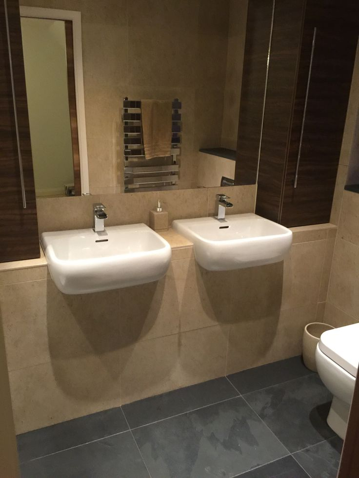 Customer en-suite bathroom using Moleanos #limestone and Brazilian #slate to create a calming and luxurious space #interiordesign #homes #bathroomideas #luxury #naturalstone #flooring