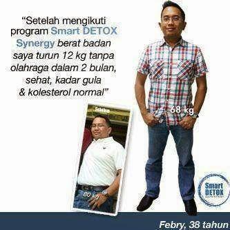 add pinBB 25EE460B Menurunkan berat badan - Mengecilkan perut buncit: Bukti turun berat 12kg bapak febry Jakarta dengan detox