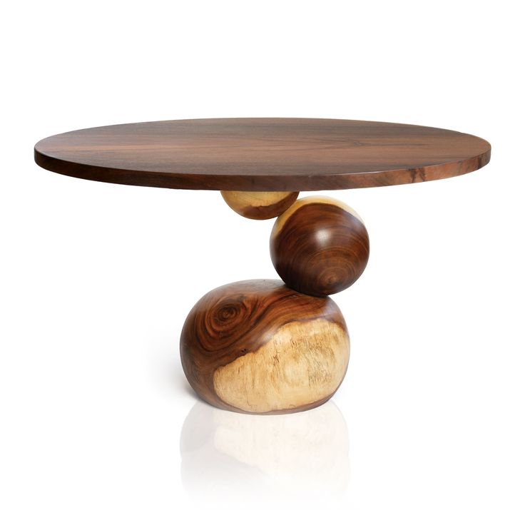 Bubble Dining Table By Tucker Robbins :: Inspired By The Work Brancusi Did  Stacking Shapes