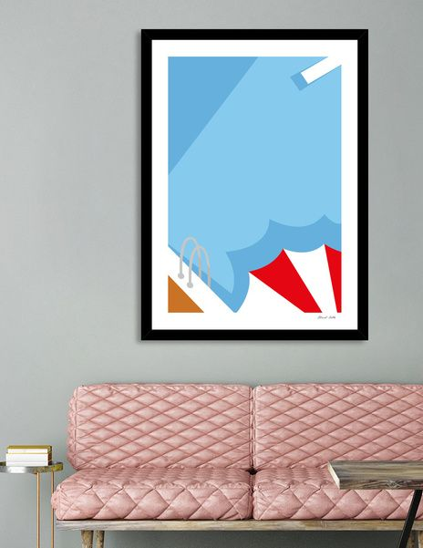 Discover «Summer», Limited Edition Fine Art Print by Micol Villa - From 27€ - Curioos