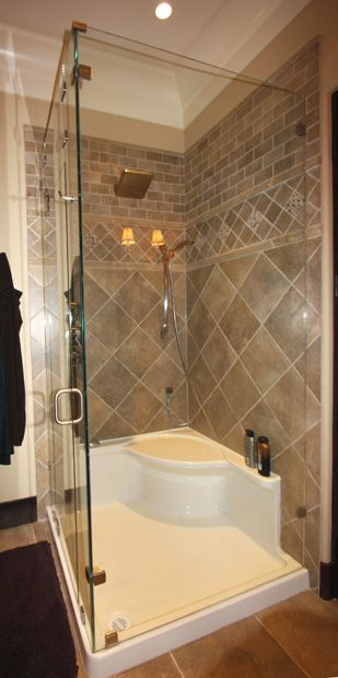 Photo Gallery | Glass World [bathtubs, drop-in acrylic tubs, skirted acrylic tubs, combination tub shower, gelcoat tub and walls, shower bases, shower stalls, shower doors, shower enclosures, vanities, sinks, mirrors, glass, back painted glass, wood shelving, wire shelving]