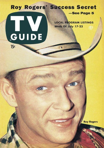 "TV Guide - July 17-23, 1954 Roy Rogers - ""King of the Cowboys"".  (11/5/1911 - 7/6/1998)"