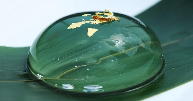 話題の水信玄餅を家庭で再現!雫のような透明感と、ぷるぷるの食感は、夏にピッタリ。