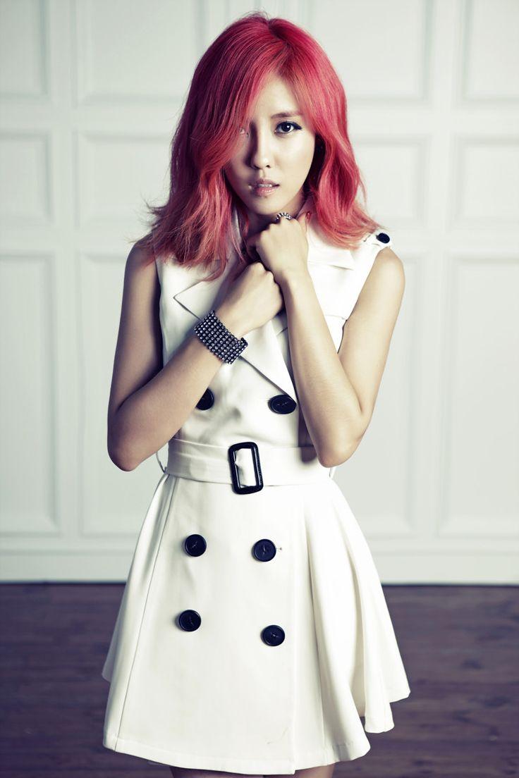 T-ara HyominParks Sunyoung, Parks Hyo-Min, Pink Hair, K Pop Hair, Kpop Hairstyles, Parks Hyomin, Hyomin Parks, Hair Inspiration, Tara Hyomin