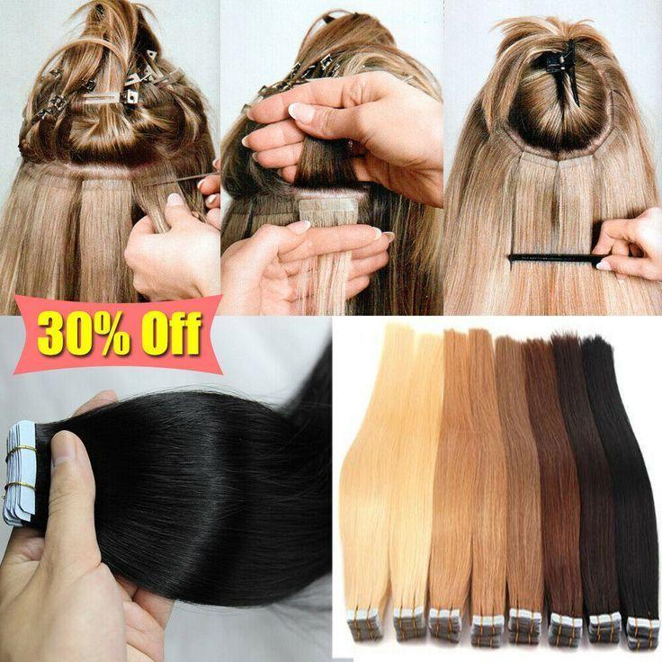 Russisch Tape-Haare Skin Weft Super Tape In Remy E…
