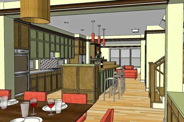 Rencana Desain Interior Rumah Pondok Simple dan Elegan | Griya Indonesia