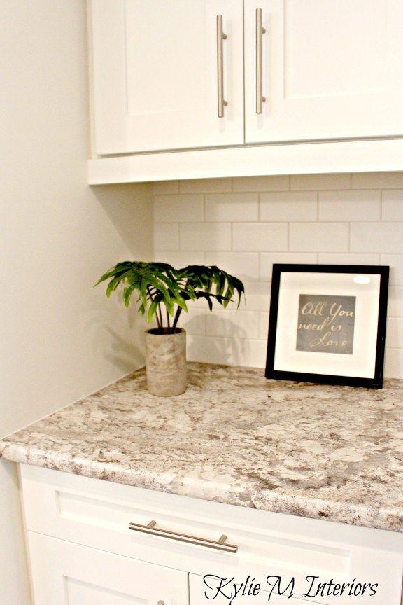 Yli tuhat ideaa Laminate Kitchen Countertops Pinterestissä  Keittiökaapit,K