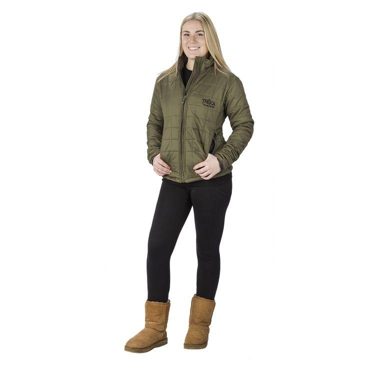 Womens PUMORI Jacket - Army Green