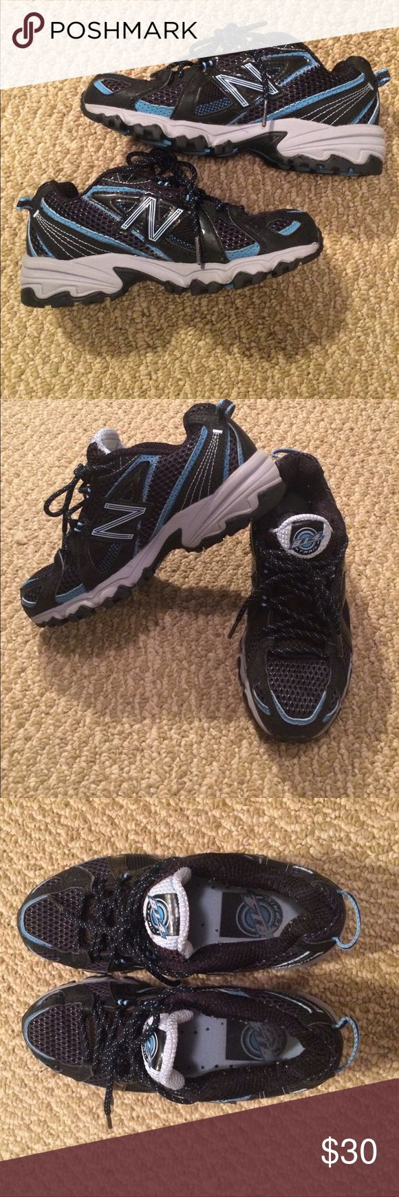 EUC New Balance All Terrain Running Shoes Blue, black and silver New Balance Athletic shoes. Please message with questions ! New Balance Shoes Sneakers