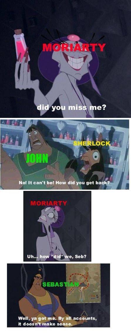 Kejsarens nya stil & Sherlock!